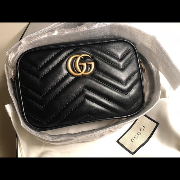 6e231c8b8a5 Gucci GG Marmont matelasse mini bag